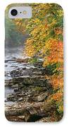 Fall Along The Cranberry River IPhone Case by Thomas R Fletcher