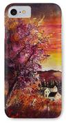 Fall In Villers IPhone Case by Pol Ledent