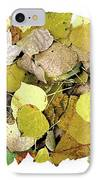 Fall Leaf Vignette IPhone Case by JQ Licensing