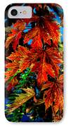Fall Reds IPhone Case