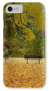 Fall Series 13 IPhone Case by Anita Burgermeister