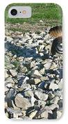 Female Killdeer Protecting Nest IPhone Case by Douglas Barnett