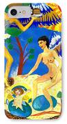 Feral Angels IPhone Case by Sushila Burgess