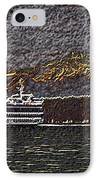 Ferry On Elliott Bay 3 IPhone Case