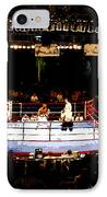 Fight Night IPhone Case by David Lee Thompson