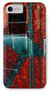 Fire Escape 7 IPhone Case by Tim Allen