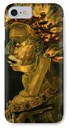 Fire IPhone Case by Giuseppe Arcimboldo
