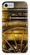 Fireman - Piano Engine - 1855  IPhone Case by Mike Savad