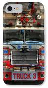 Fireman - Fire Engine IPhone Case by Lee Dos Santos