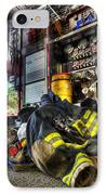 Firemen Always Ready For Duty - Fire Station - Union New Jersey IPhone Case