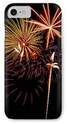 Fireworks 1 IPhone Case by Michael Peychich
