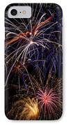 Fireworks Celebration  IPhone Case