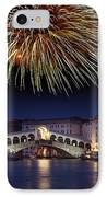 Fireworks Display, Venice IPhone Case