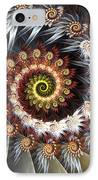 Fireworks Of Isis IPhone Case by Amorina Ashton