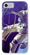 First American Walking In Space, Edward IPhone Case