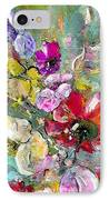 First Flowers IPhone Case