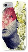 Fishhead IPhone Case by Sarah Loft