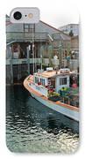 Fishing Boat At Chatham Fish Pier IPhone Case by Matt Suess