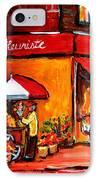 Fleuriste Bernard Florist Montreal IPhone Case