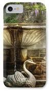 Flower - Wisteria - Fountain IPhone Case