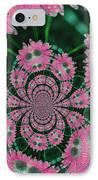Flower Design IPhone Case by Karol Livote