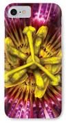 Flower - Intense Passion  IPhone Case by Mike Savad