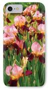 Flower - Iris - Gy Morrison IPhone Case by Mike Savad