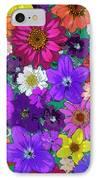 Flower Pond Vertical IPhone Case