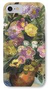 Flowers In A Clay Vase IPhone Case