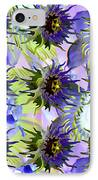 Flowers On The Wall IPhone Case by Betsy Knapp