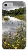 Flowery Lake IPhone Case by Carlos Caetano