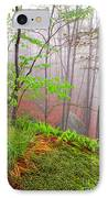 Foggy Misty Spring Morning IPhone Case by Thomas R Fletcher