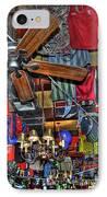 Foley's Pub In Manhattan IPhone Case by Randy Aveille