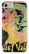 Folies Bergeres IPhone Case by Jules Cheret