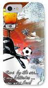 Football Derby Rams On Holidays By The Sea IPhone Case