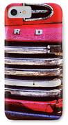 Ford Grille IPhone Case by Michael Thomas