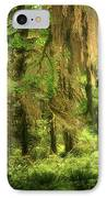 Forest Fantasy - Quinault - Gateway To Paradise On The Olympic Peninsula Wa IPhone Case