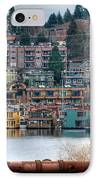 Framed In Seattle IPhone Case by Spencer McDonald