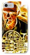 French Horn IPhone Case by Stephen Younts