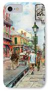 French Quarter Antiques IPhone Case by Dianne Parks