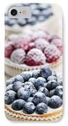 Fresh Berry Tarts IPhone Case