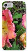 Fringed Tulips IPhone Case