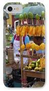 Fruit Stand Antigua  Guatemala IPhone Case by Kurt Van Wagner