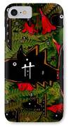 Fugi Sashi In The Deep Sea Of Japan IPhone Case by Pepita Selles