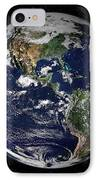 Full Earth Showing North And South IPhone Case