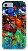 Full Speed IPhone Case by Debra Hurd