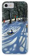 Fun In The Snow IPhone Case