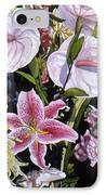 Garden Song IPhone Case by Teri Starkweather
