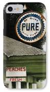 Gardner's Peaches IPhone Case by Mike England