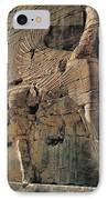 Gate Of All Nations In Persia IPhone Case by Carl Purcell